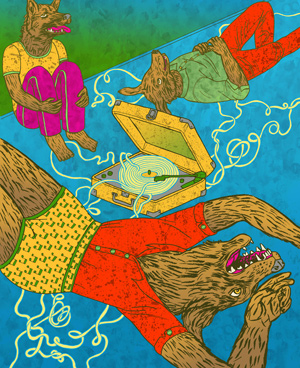 Cover of Issue #02 by Lisa Hanawalt
